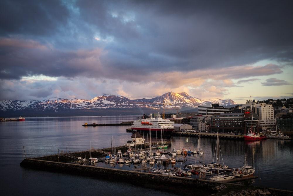 Mitternachtssonne in Tromsø